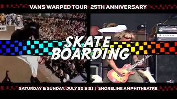2019 Vans Warped Tour TV Spot, '25th Anniversary: Mountain View' - Thumbnail 5