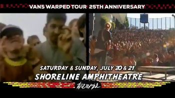 2019 Vans Warped Tour TV Spot, '25th Anniversary: Mountain View' - Thumbnail 8