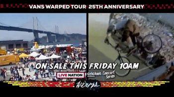 2019 Vans Warped Tour TV Spot, '25th Anniversary: Mountain View' - Thumbnail 9