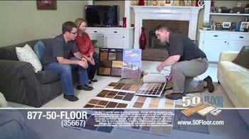 50 Floor TV Spot, '60% Off' - Thumbnail 1