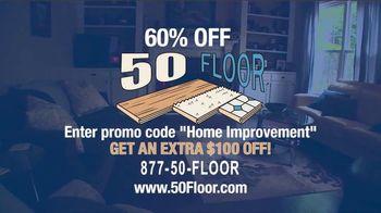 50 Floor TV Spot, '60% Off' - Thumbnail 10