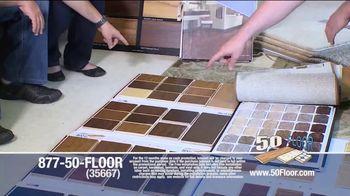 50 Floor TV Spot, '60% Off' - Thumbnail 4