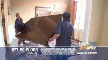 50 Floor TV Spot, '60% Off' - Thumbnail 5