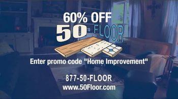 50 Floor TV Spot, '60% Off' - Thumbnail 7