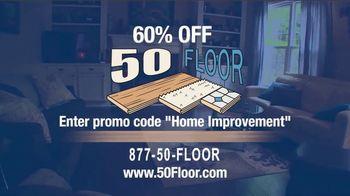 50 Floor TV Spot, '60% Off' - Thumbnail 9