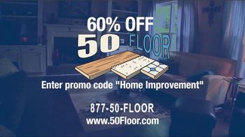 50 Floor TV Spot, '60 Percent Off' - Thumbnail 7