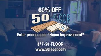 50 Floor TV Spot, '60 Percent Off' - Thumbnail 8