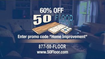 50 Floor TV Spot, '60 Percent Off' - Thumbnail 9