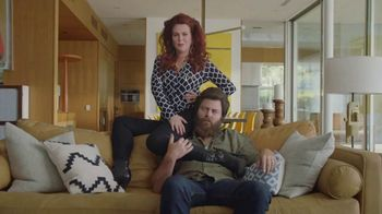 Sling TV Spot, 'Statue: Tax Offer' Featuring Nick Offerman, Megan Mullally - Thumbnail 1