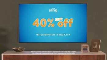 Sling TV Spot, 'Statue: Tax Offer' Featuring Nick Offerman, Megan Mullally - Thumbnail 10