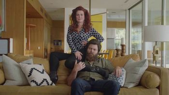 Sling TV Spot, 'Statue: Tax Offer' Featuring Nick Offerman, Megan Mullally - Thumbnail 2