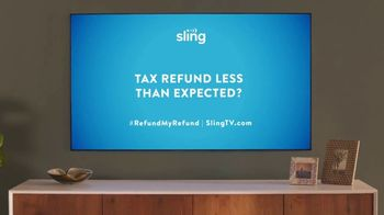 Sling TV Spot, 'Statue: Tax Offer' Featuring Nick Offerman, Megan Mullally - Thumbnail 9
