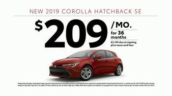 2019 Toyota Corolla TV Spot, 'Tag' [T2] - Thumbnail 8