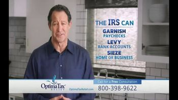 Optima Tax Relief TV Spot, 'Fresh Start Initiative: The IRS Doesn't Mess Around'