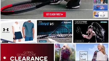 Tennis Express TV Spot, 'Clash Tennis Racquet' - Thumbnail 3