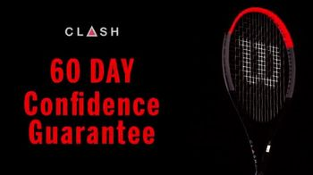 Tennis Express TV Spot, 'Clash Tennis Racquet' - Thumbnail 6