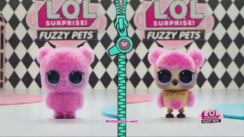 L.O.L. Surprise! Fuzzy Pets TV Spot, 'Gettin' Fuzzy With It'