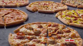 Papa John's Specialty Pizzas TV Spot, 'Taste Buds'