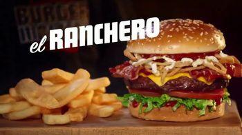 Red Robin El Ranchero TV Spot, 'La hamburguesa exitosa' [Spanish]