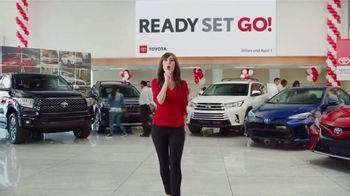 Toyota Ready Set Go! TV Spot, 'Ring Announcer' Featuring Michael Buffer [T2] - Thumbnail 8