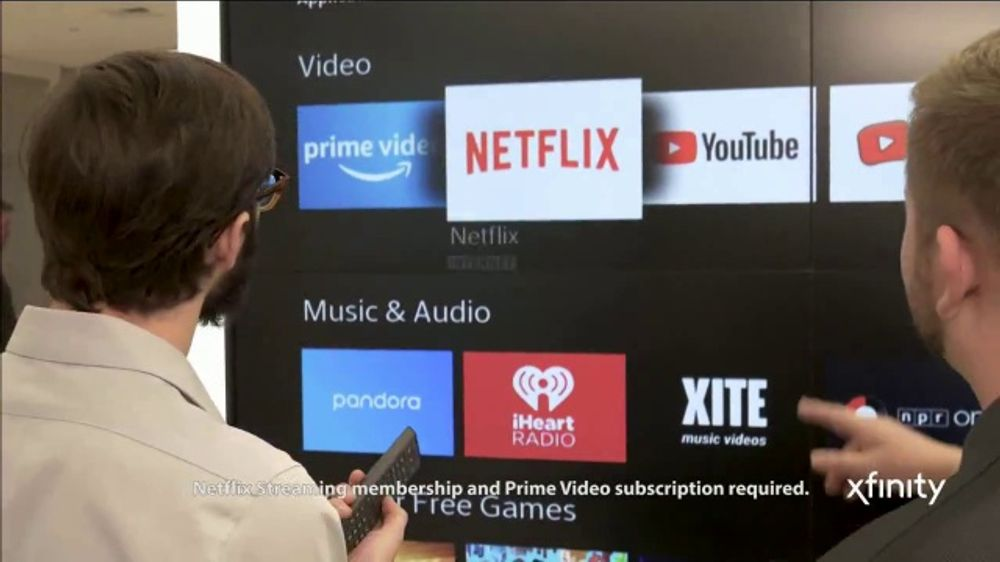 XFINITY X1 TV Commercial, 'Customizable Entertainment Demo' - Video