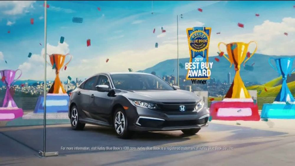 Honda Civic Commercial >> Honda Civic Tv Commercial The Whole Package T1 Ispot Tv
