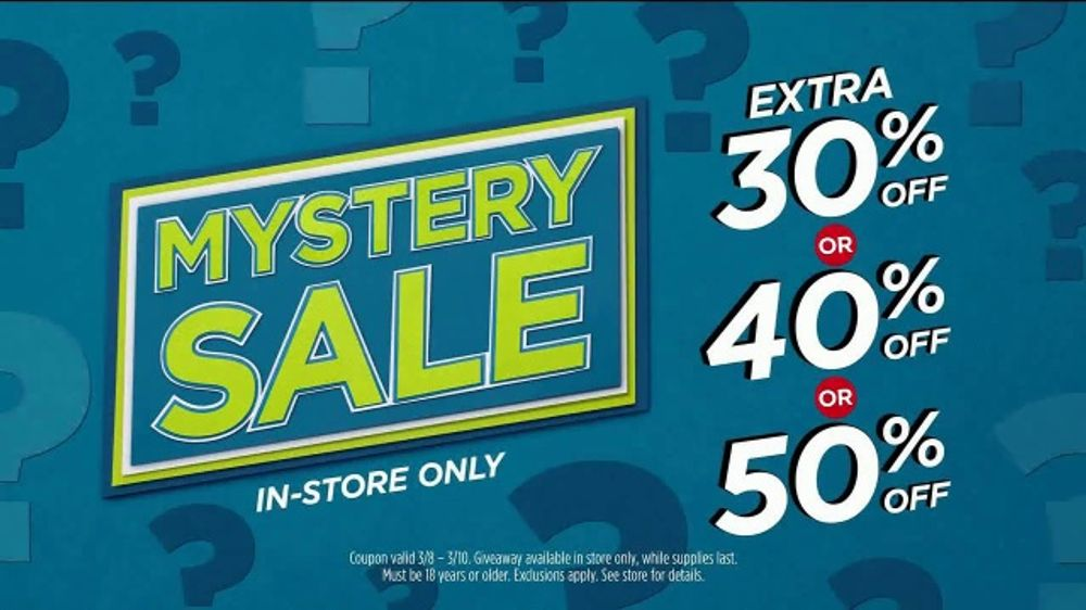 f7d64daaa JCPenney Mystery Sale TV Commercial