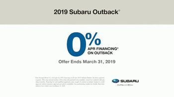 2019 Subaru Outback TV Spot, 'See the World' [T2] - Thumbnail 9