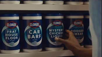 Clorox Ultra Clean Disinfecting Wipes TV Spot, 'Mystery Chicken Liquid' - Thumbnail 6