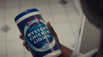 Clorox Ultra Clean Disinfecting Wipes TV Spot, 'Mystery Chicken Liquid' - Thumbnail 7