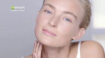 Garnier SkinActive Micellar Cleansing Water TV Spot, 'Para la piel sensible'  [Spanish]