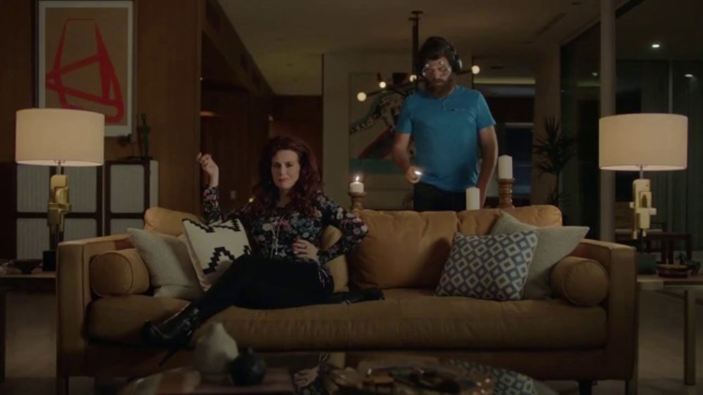 Sling Tv Commercial Mood Xbox Featuring Nick Offerman Megan Mullally Video
