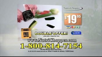 NutriChopper TV Spot, 'Speed Slicing' - Thumbnail 9