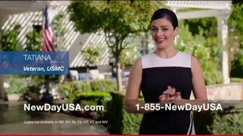 NewDay USA VA Cash Out Home Loan TV Spot, 'Consolidate' - Thumbnail 1