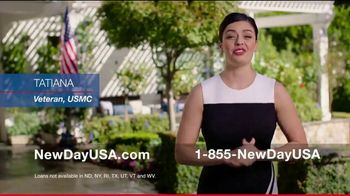 NewDay USA VA Cash Out Home Loan TV Spot, 'Consolidate' - Thumbnail 2