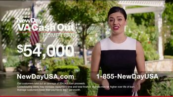 NewDay USA VA Cash Out Home Loan TV Spot, 'Consolidate' - Thumbnail 5