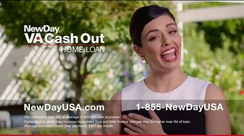 NewDay USA VA Cash Out Home Loan TV Spot, 'Consolidate' - Thumbnail 6