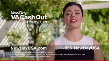 NewDay USA VA Cash Out Home Loan TV Spot, 'Consolidate' - Thumbnail 7