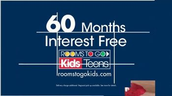 Rooms to Go Kids and Teens Anniversary Sale TV Spot, 'Twin Loft Bed' - Thumbnail 6
