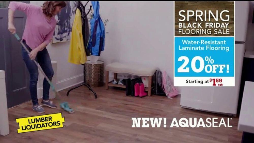 Lumber Liquidators Spring Black Friday Flooring Sale Tv