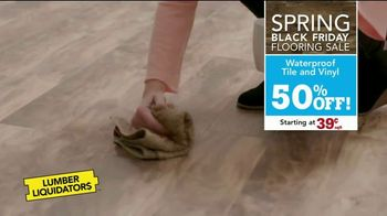 Lumber Liquidators Spring Black Friday Flooring Sale TV Spot, 'Up to 50 Percent Off' - Thumbnail 4