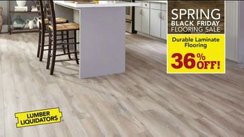 Lumber Liquidators Spring Black Friday Flooring Sale TV Spot, 'Up to 50 Percent Off' - Thumbnail 6
