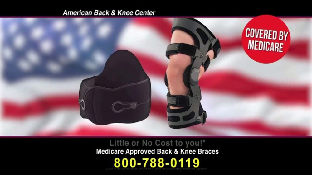 44d99fce3f Back and Knee Brace Center TV Commercial, 'Back or Knee Pain: Braces' -  iSpot.tv