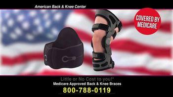 Back and Knee Brace Center TV Spot, 'Back or Knee Pain: Braces'