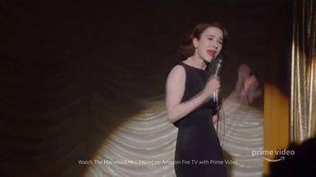 Amazon Fire TV TV Spot, 'The Marvelous Mrs. Maisel: Tell Me a Joke' - Thumbnail 1