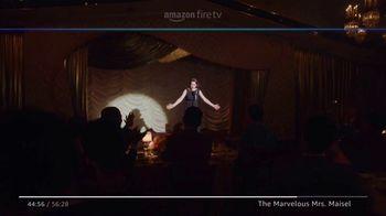 Amazon Fire TV TV Spot, 'The Marvelous Mrs. Maisel: Tell Me a Joke' - Thumbnail 3