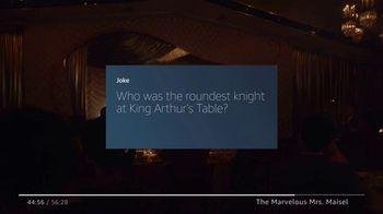 Amazon Fire TV TV Spot, 'The Marvelous Mrs. Maisel: Tell Me a Joke' - Thumbnail 4