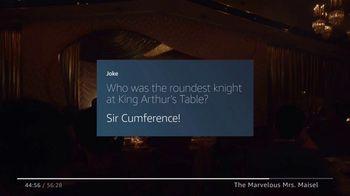 Amazon Fire TV TV Spot, 'The Marvelous Mrs. Maisel: Tell Me a Joke' - Thumbnail 5