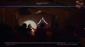 Amazon Fire TV TV Spot, 'The Marvelous Mrs. Maisel: Tell Me a Joke' - Thumbnail 6