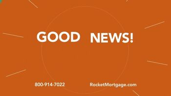 Rocket Mortgage YOURgage TV Spot, 'Good News' - Thumbnail 2